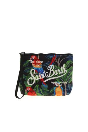 ALINE MACAW BAG IN BLACK MC2 SAINT BARTH | 62 | ALINEMACW00
