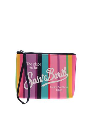 ALINE SOFT SUMMER STRIPE MULTICOLOR BAG