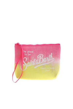 ALINE STRIPEDYE BAG IN FUCHSIA AND YELLOW