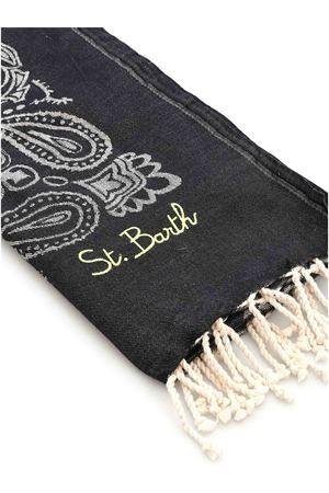 BANDANA BEACH TOWEL IN BLACK MC2 SAINT BARTH | 54 | FOUTASJNBAN00