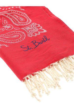 BANDANA BEACH TOWEL IN RED MC2 SAINT BARTH | 54 | FOUTASJNBAN41