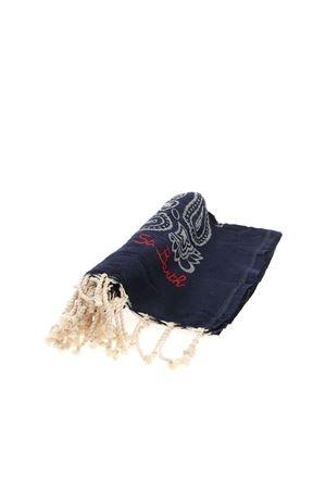 BANDANA BEACH TOWEL IN BLUE MC2 SAINT BARTH | 54 | FOUTASJNBAN61