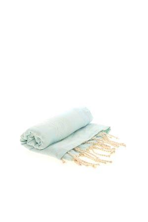FOUTAS BEACH TOWEL IN LIGHT BLUE MC2 SAINT BARTH | 54 | FOUTASJNBAND56