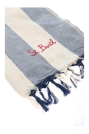 BANDANA BEACH TOWEL IN BLUE AND WHITE MC2 SAINT BARTH | 54 | FOUTASLIGHTNVBGL06