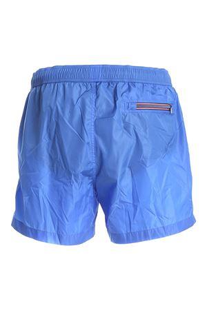 LOGO PATCH SWIM SHORT IN LIGHT BLUE MONCLER | 85 | 2C7080053326730