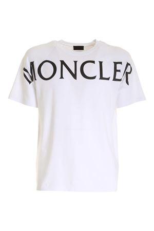 MONCLER T-SHIRT IN WHITE MONCLER | 8 | 8C7C510829H8001