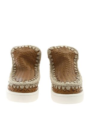 SUMMER ESKIMO SNEAKERS IN BROWN LEATHER MOU | 5032248 | SW211000CSCACOG