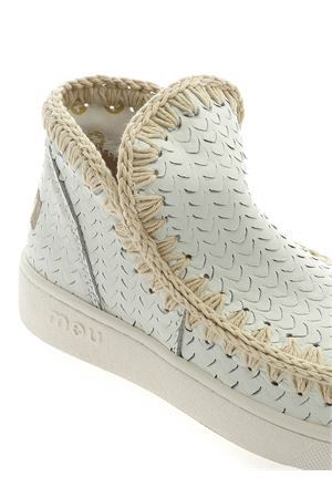 SUMMER ESKIMO SNEAKERS IN WHITE LEATHER MOU | 5032248 | SW211000CSCAWHI