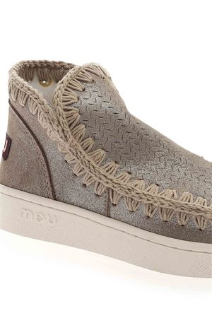 SUMMER ESKIMO SNEAKERS IN GREY MOU | 5032248 | SW211000PMGEGRY