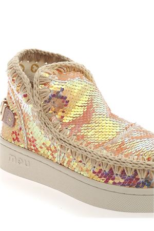 SUMMER ESKIMO SEQUINS SNEAKERS IN PINK MOU | 5032248 | SW211001GIRIBEI