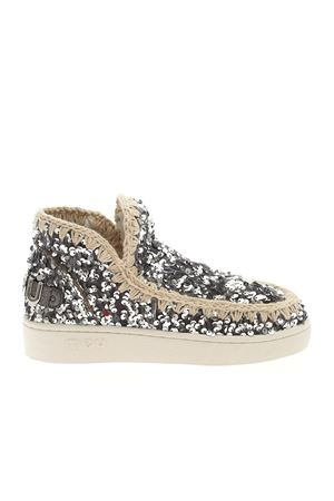 SUMMER ESKIMO SNEAKERS IN SILVER COLOR MOU | 5032248 | SW211016GSEQSS
