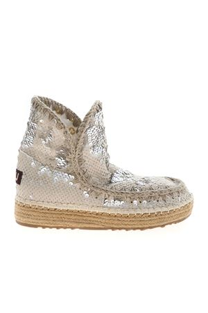 ESKIMO 18 ANKLE BOOTS IN SILVER COLOR MOU | 5032248 | SW221000GSEQCHLK