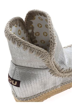 ESKIMO ANKLE BOOTS IN SILVER COLOR MOU | 5032248 | SW241000PMGEGRY