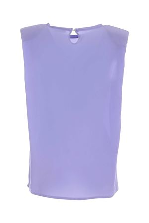 SLEEVELESS BLOUSE IN PURPLE PAOLO FIORILLO CAPRI | 10000004 | 29893000137