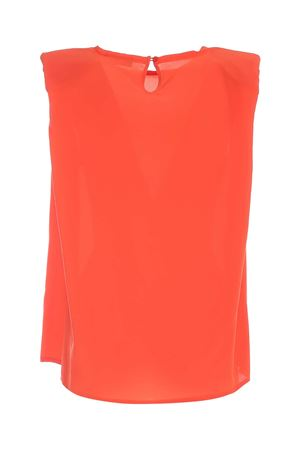 SLEEVELESS BLOUSE IN ORANGE PAOLO FIORILLO CAPRI | 10000004 | 29893000170