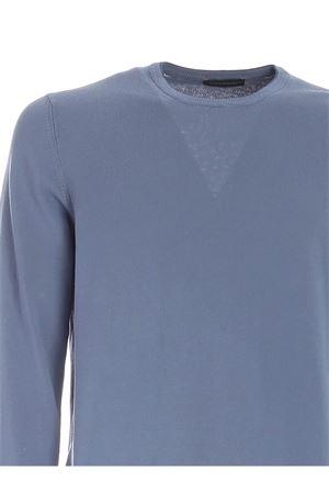 BLUE HEMS SWEATER IN LIGHT BLUE PAOLO FIORILLO CAPRI | 7 | 5516721413578