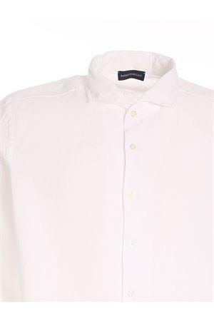 LINEN SHIRT IN WHITE PAOLO FIORILLO CAPRI | 6 | 6118350002001