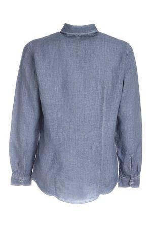 SHIRT IN MELANGE BLUE PAOLO FIORILLO CAPRI | 6 | 6118350002997