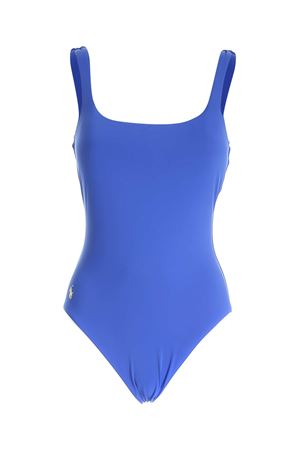 LOGO ONE-PIECE SWIMSUIT IN BLUE  POLO RALPH LAUREN | 85 | 21001310NVY