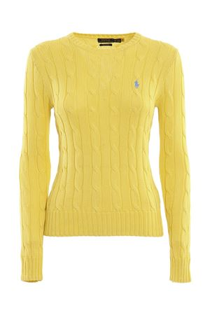 LOGO EMBROIDERY JUMPER IN YELLOW POLO RALPH LAUREN | -1384759495 | 211580009094