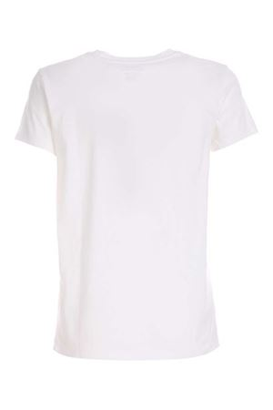 WHITE T-SHIRT WITH CONTRASTING LOGO POLO RALPH LAUREN   8   211734144001