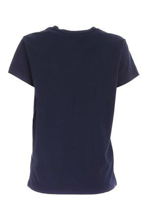 BLUE DENIM T-SHIRT WITH CONTRASTING LOGO POLO RALPH LAUREN | 8 | 211734144024