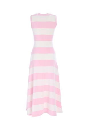 STRIPED DRESS IN PINK AND WHITE POLO RALPH LAUREN | 11 | 211838121001