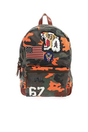 CAMOUFLAGE PRINT MULTICOLOR BACKPACK POLO RALPH LAUREN | 10000008 | 405831255001