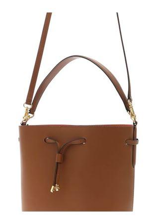 DEBBY BUCKET BAG IN BROWN POLO RALPH LAUREN | 70000001 | 431697679027