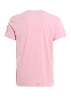 PINK LOGO EMBROIDERY T-SHIRT POLO RALPH LAUREN | 8 | 710671438145