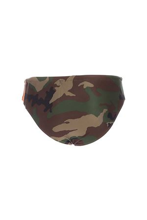 CAMOUFLAGE SWIM TRUNKS IN GREEN AND BROWN POLO RALPH LAUREN | 85 | 710739220008