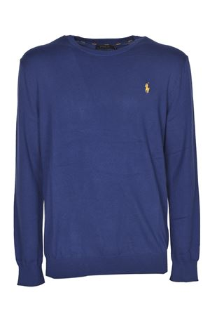MAGLIONE LOGO BLU SCURO ROYAL 710744679030 POLO RALPH LAUREN | -1384759495 | 710744679030