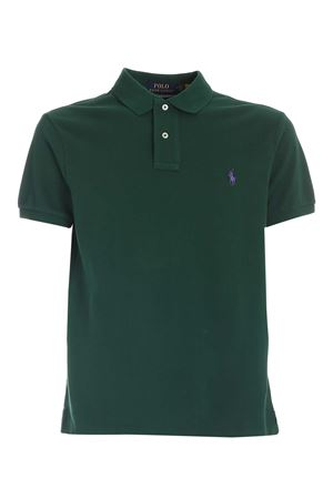 SLIM FIT POLO SHIRT IN GREEN POLO RALPH LAUREN | 2 | 710795080002