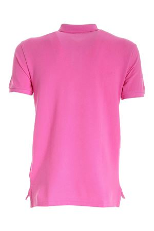 SLIM FIT POLO SHIRT IN PINK WITH LIME-COLORED LOGO POLO RALPH LAUREN | 2 | 710795080032