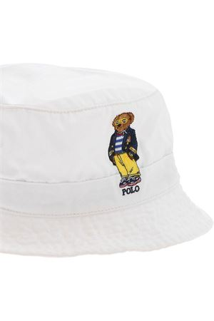 EMBROIDERY HAT IN WHITE POLO RALPH LAUREN | 26 | 710834756002