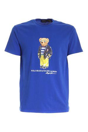 PRINT T-SHIRT IN BLUE POLO RALPH LAUREN | 8 | 710837306001