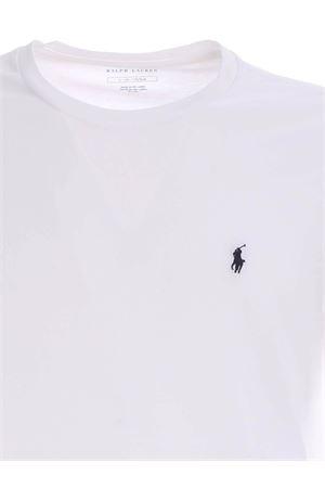 CREWNECK T-SHIRT IN WHITE POLO RALPH LAUREN | 8 | 714706745004