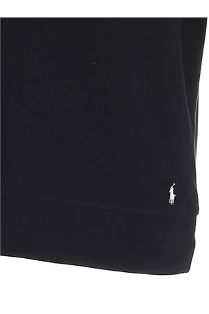 WHITE LOGO SWEATSHIRT IN BLACK POLO RALPH LAUREN | -108764232 | 714833977001
