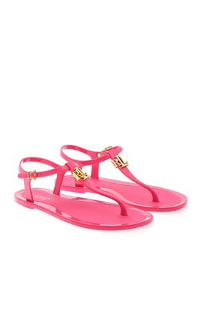 FLIP FLOPS SANDALS IN FUCHSIA