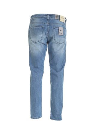 5 POCKET JEANS IN LIGHT BLUE RE-HASH | 24 | P015302546GGBLUE