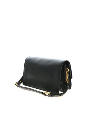 MINI SHOULDER BAG IN BLACK TOD