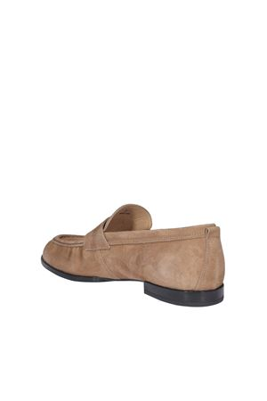 CLASSIC SUEDE LOAFERS IN BEIGE TOD