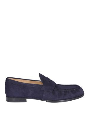 CLASSIC SUEDE LOAFERS IN BLUE TOD