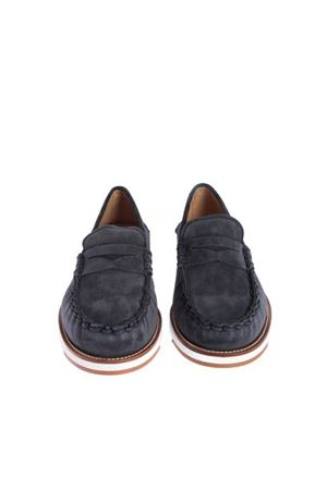 PENNY BAR LOAFERS IN BLUE TOD