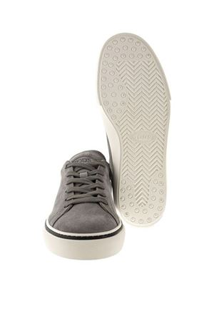 SNEAKERS IN SUEDE LEATHER - GRAY TOD