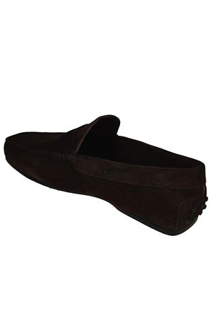 CITY GOMMINO DRIVING SHOES IN BROWN SUEDE TOD