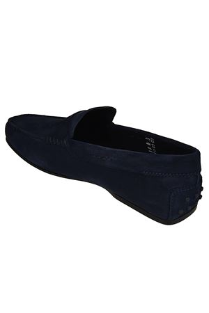 CITY GOMMINO MOCASSINO IN PELLE SCAMOSCIATA BLU XXM0LR00011RE0U820 TOD