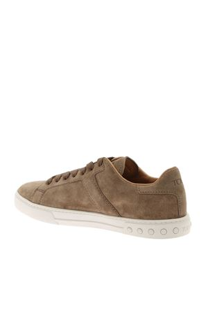 SUEDE SNEAKERS IN DOVE GREY COLOR TOD