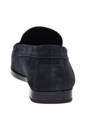 BRANDED PENNY BAR LOAFERS IN BLUE TOD