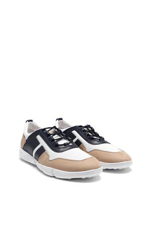 ALL COMPETITION SNEAKERS BEIGE AND BLUE TOD